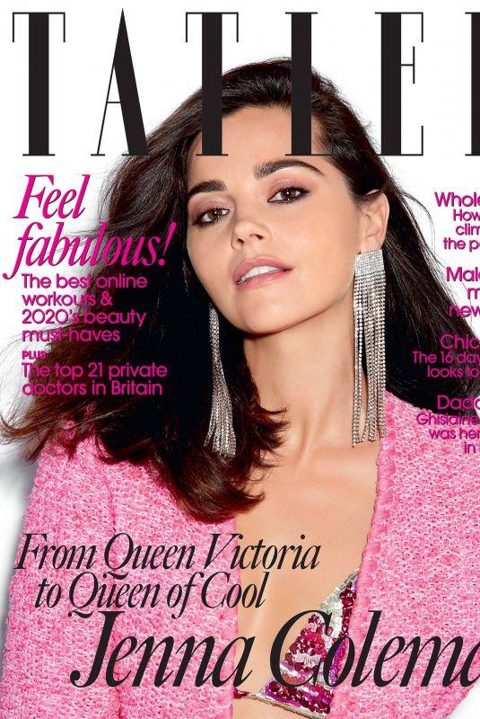JENNA LOUISE COLEMAN in Tatler Magazine, October 2020