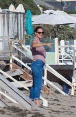 JENNIFER GARNER Out on the Beach in Malbiu 08/06/2020