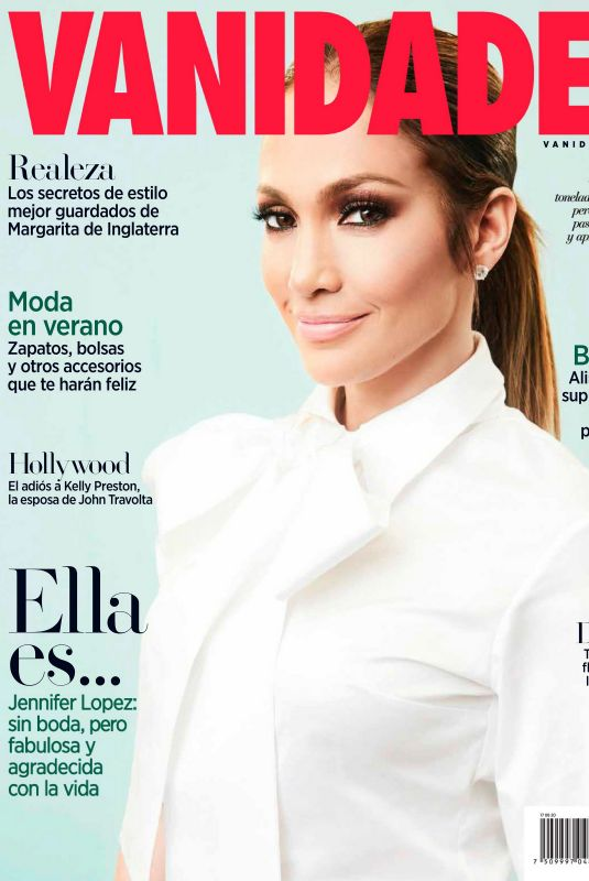 JENNIFER LOPEZ in Vanidades Mexico, August 2020