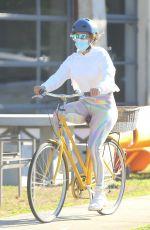 JENNIFER LOPEZ on a Bike Ride in New York 08/01/2020