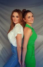 JOEY and HUNTER KING at a Photoshoot 08/24/2020