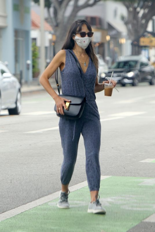 JORDANA BREWSTER Out and About in Los Angeles 08/06/2020