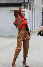 JOSEPHINE SKRIVER at a Maybelline Photoshoot in New York 08/13/2020
