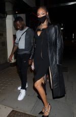 JOURDAN DUNN Celebrates Her 30th Birthday in London 08/03/2020