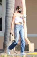 KAIA GERBER Leaves a Pet Store in Malibu 08/04/2020