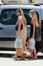 KATE and LILA GRACE MOSS Out and About in Ibiza 08/02/2020