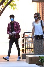 KATE BECKINSALE Leaves a Medical Building in Los Angeles 08/10/2020