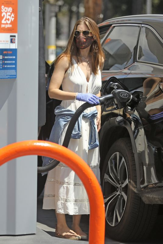 KATE MARA at a Gas Station in Los Angeles 08/15/2020