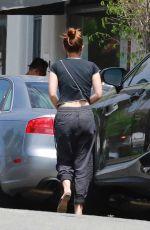 KATE MARA Out for Coffee in Los Feliz 08/23/2020