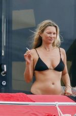 KATE MOSS in Bikini at a Yacht in Spain 08/03/2020