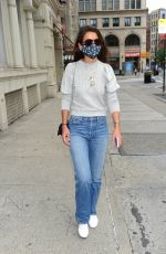 KATIE HOLMES Shopping for Cerave Hydrating Facial Cleanser in New York 07/24/2020