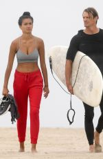 KELLY GALE Out at a Beach in Santa Monica 08/06/2020