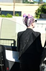 KELLY OSBOURNE Out and About in Los Angeles 08/09/2020