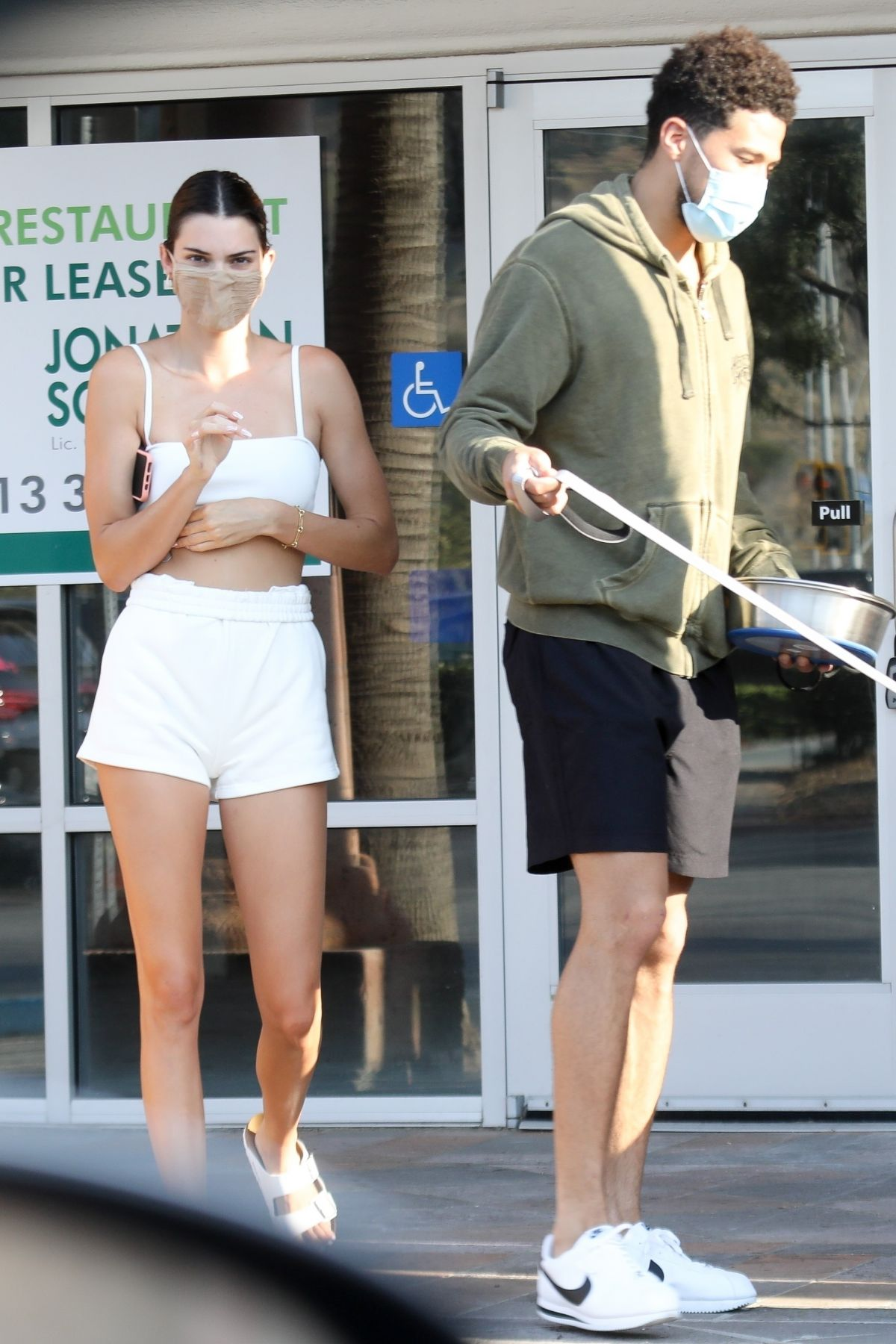 KENDALL JENNER and Devin Booker at a Pet Shop in Malibu 08 ...