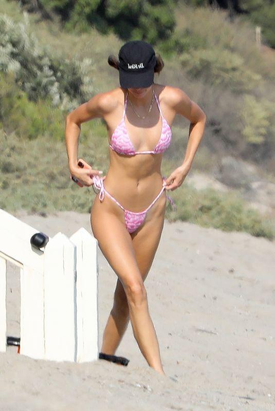KENDALL JENNER in Bikini at a Beach in Malibu 08/19/2020