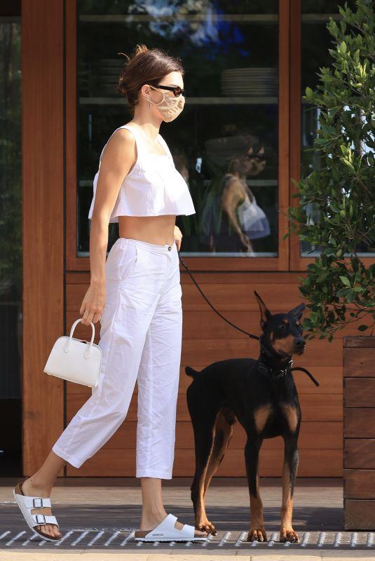 KENDALL JENNER Leaves Soho House in Malibu 08/02/2020