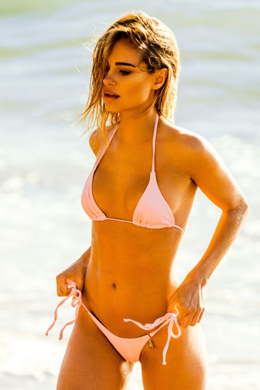 KIMBERLEY GARNER in Bikini at a Photoshoot in France 08/20/2020