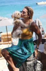 KONSTATINA SPYROPOLOU in Swimsuit at a Beach in Mykonos 08/06/2020