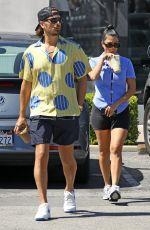 KOURTNEY KARDASHIAN and Scott Disick Out in Malibu 07/31/2020