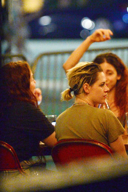 KRISTEN STEWART and DYLAN MEYER Night Out in Los Angeles 08/23/2020