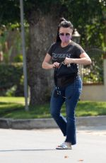 KYLE RICHARDS Out Shopping in Los Angeles 08/20/2020