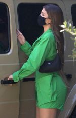 KYLIE JENNER Out for Lunch at 40 Love in West Hollywood 08/13/2020