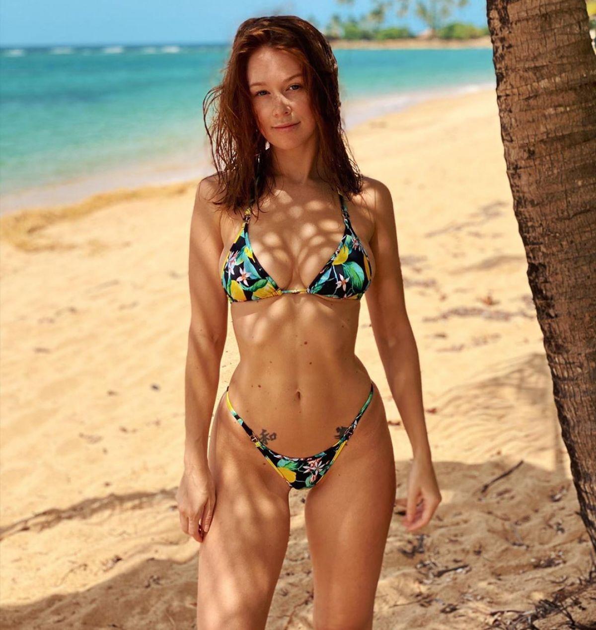 LEANNA DECKER in Bikini at Beach - Instagram Photos 08/05