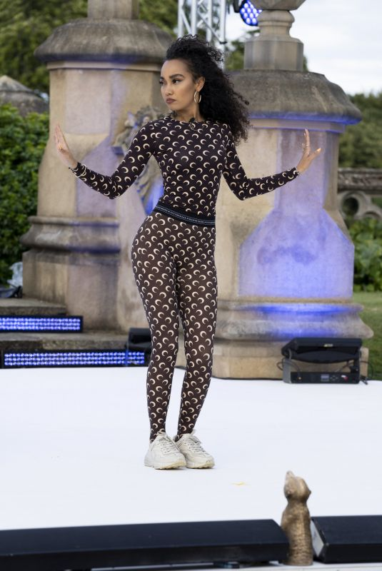 LEIGH-ANNE PINNOCK Rehearsing at Hertfordshire's Knebworth House in London 07/31/2020