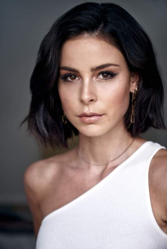 LENA MEYER-LANDRUT on the Set of a Photoshoot, 2020