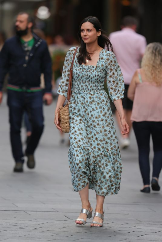 LILAH PARSONS Out in London 08/22/2020