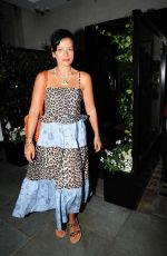 LILY ALLEN Out for Dinner with Friends in Mayfair 08/11/2020