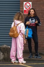 LITTLE MIX Leaves a Studios in London 07/28/2020
