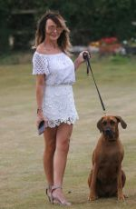 LIZZIE CUNDY Out with Her Dog in London 07/30/2020