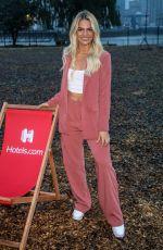 LOUISA JOHNSON at hotels.com Dream Screen Drive-in Cinema in London 08/19/2020