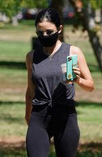 LUCY HALE Out at Valley Village Park in Studio City 08/03/2020