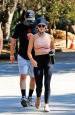 LUCY HALE Out Hiking in Studio City 08/05/2020
