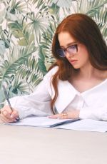 MADELAINE PETSCH and Abbvie for a Campaign Empowering Women 07/29/2020
