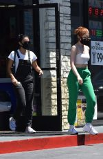 MADELAINE PETSCH and CAMILA MENDES Out in Los Angeles 08/11/2020