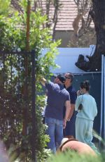 MADISON BEER Inspecting Her New Home in Los Angeles 08/05/2020