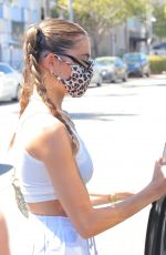 MADISON BEER Leaves Il Pastaio in Beverly Hills 08/11/2020