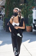 MADISON BEER Leaves Il Pastaio in Beverly Hills 08/27/2020