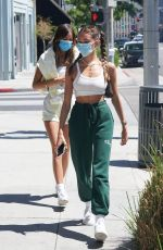 MADISON BEER Out and About in Beverly Hills 08/09/2020