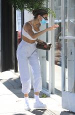 MADISON BEER Out Shopping on Melrose Place in West Hollywood 08/07/2020