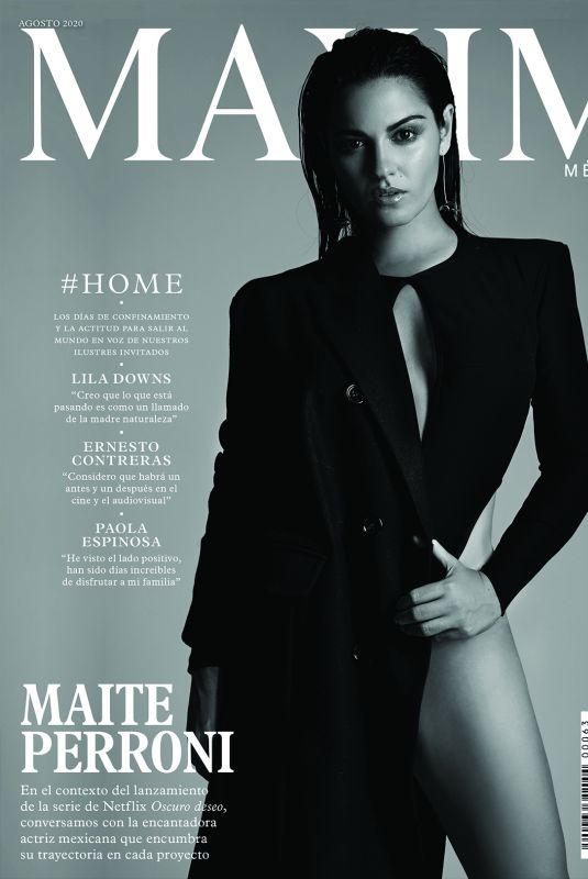 MAITE PERRONI for Maxim Magazine, Mexico August 2020