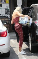 MALIN AKERMAN Out Shopping in Los Angeles 08/21/2020