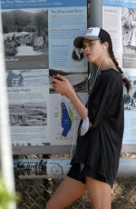 MARGARET QUALLEY Out Jogging in Los Angeles 08/04/2020