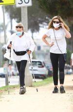 MARIA SHRIVER Out Hiking in Santa Monica 08/17/2020