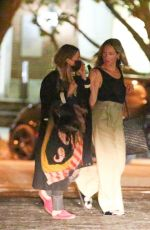 MARY KATE OLSEN Leaves Tutto Il Giorno Restaurant in New York 08/04/2020