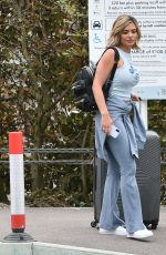 MEGAN BARTON HANSON Arrives at Stansted Airport 08/06/2020