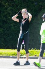 MELANIE GRIFFITH Out Hiking in Beverly Hills 08/04/2020